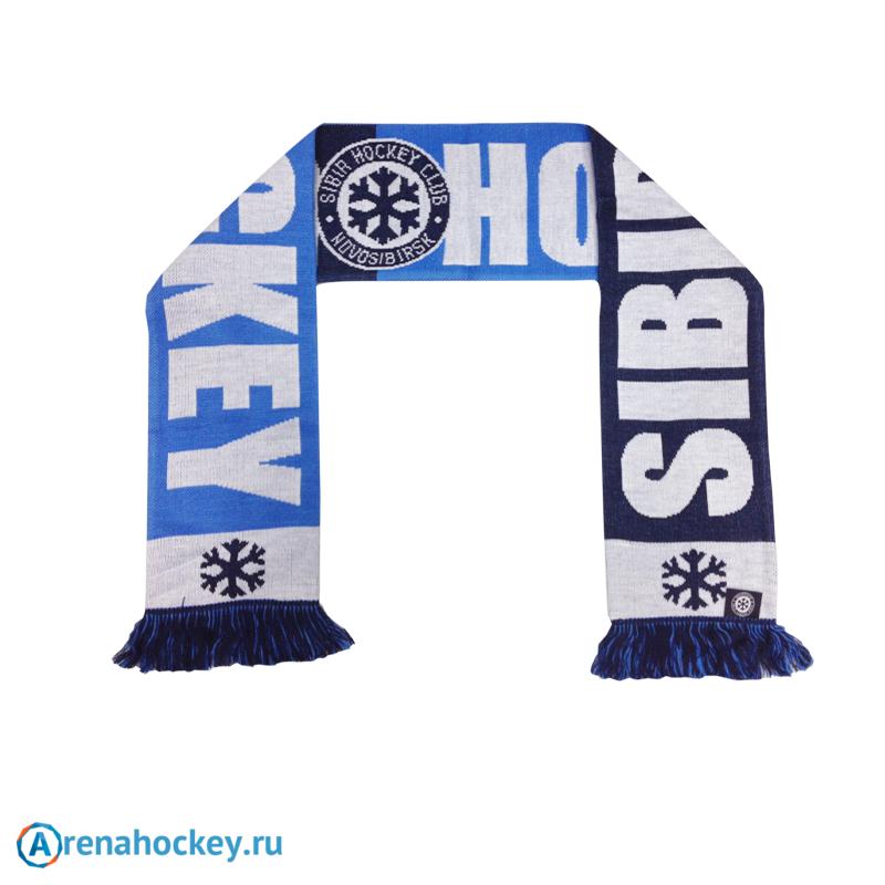 b249ef914228 Шарф болельщика хоккейного клуба Сибирь Новосибирск с надписью ...