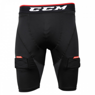 Шорты CCM Compression Short Jock Sr