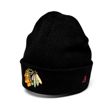 Шапка мужская Atributika NHL Chicago Blackhawks 59001
