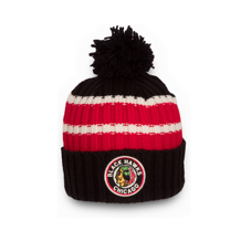 Шапка CCM NHL Vintage Watch Pom Chicago Blackhawks