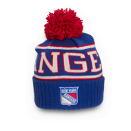 Шапка Reebok NHL Wool Bl Cuffed Pom New York Rangers