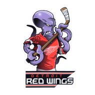 Наклейка Detroit Red Wings Mascot