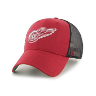 Бейсболка '47 Brand Branson Detroit Red Wings