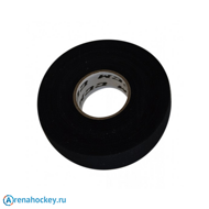 Лента для клюшек CCM Cloth Hockey Tape 24мм х 50м черная