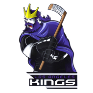 Наклейка Los Angeles Kings Mascot