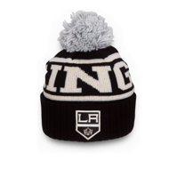 Шапка Reebok NHL Wool Bl Cuffed Pom Los Angeles Kings