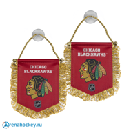 Вымпел Atributika NHL Chicago BlackHawks на присоске