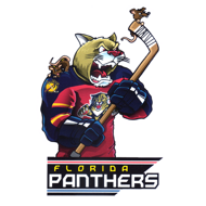 Наклейка Florida Panthers Mascot