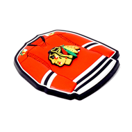 Магнит Atributika NHL Chicago Blackhawks пластиковый 56008