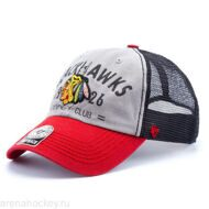 Бейсболка '47 Brand Flathead Chicago Blackhawks
