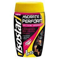 Напиток Isostar Hydrate & Perform Cranberry 400 г